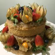 Naked Cake sem Glúten e Lactose